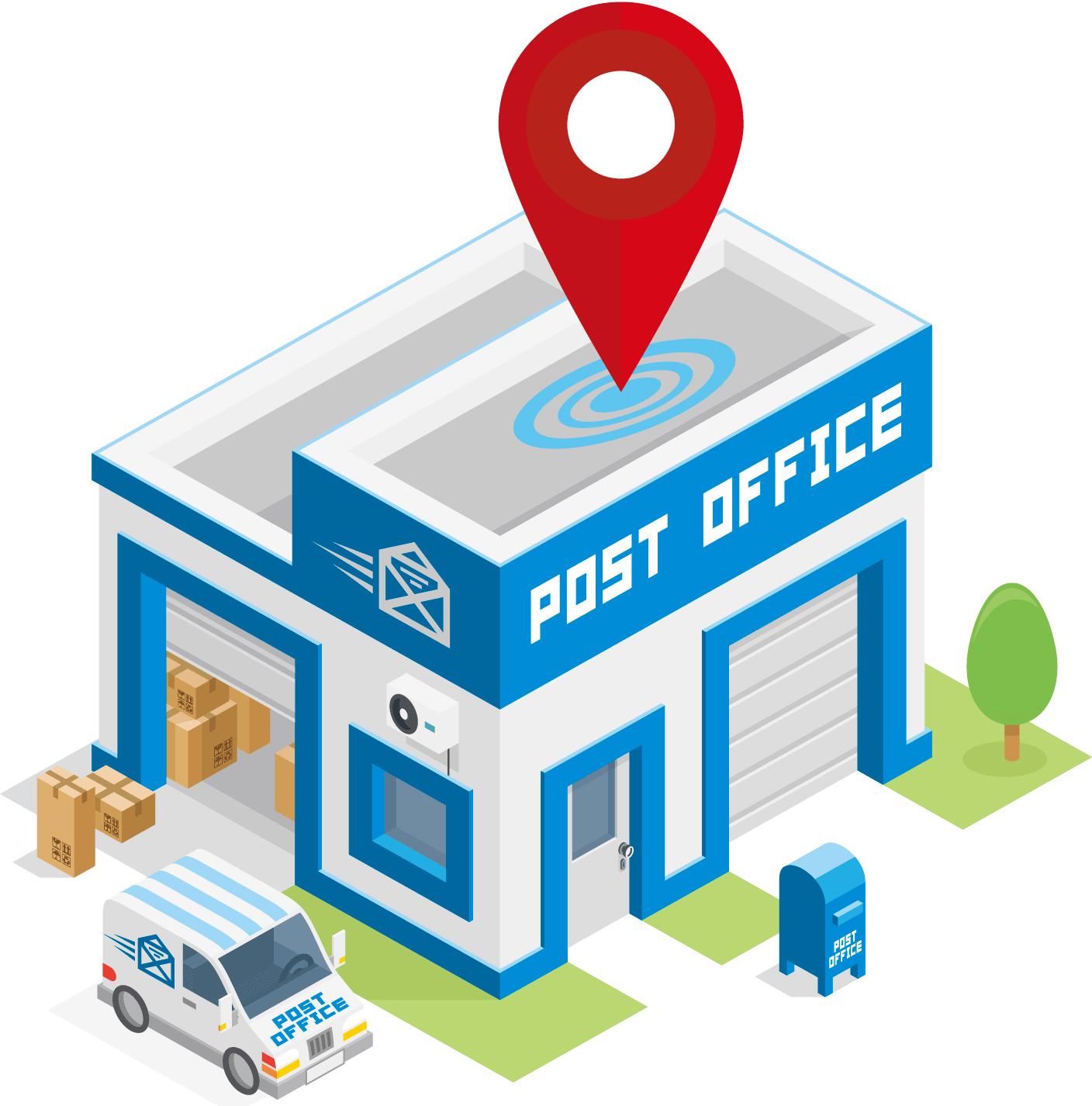 immagini post office